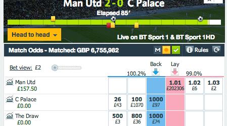 Man Utd vs C Palace